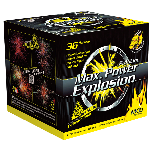 Max. Power Explosion